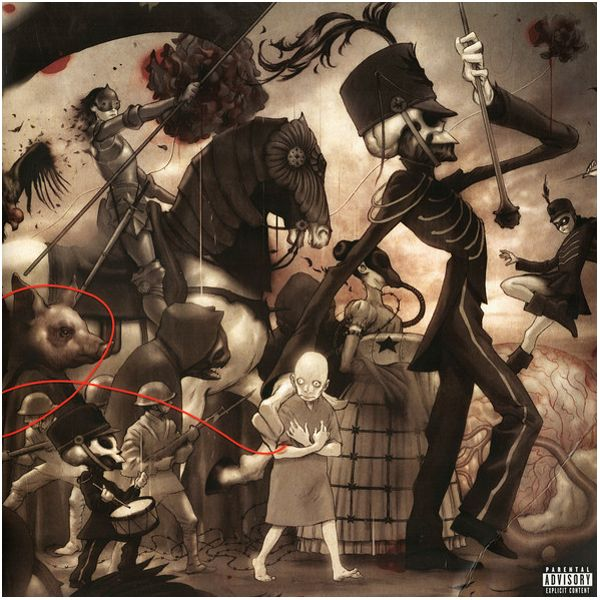 Виниловая пластинка My Chemical Romance, The Black Parade the surrealist parade