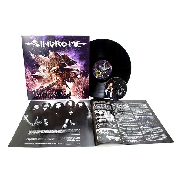 Виниловая пластинка Sindrome, Resurrection – The Complete Collection (LP, CD) виниловая пластинка cd david bowie ziggy stardust and the spiders from