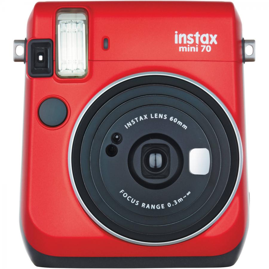 Фото - Фотокамера моментальной печати Fujifilm Instax Mini 70 Red red lace up back design random floral print mini dress