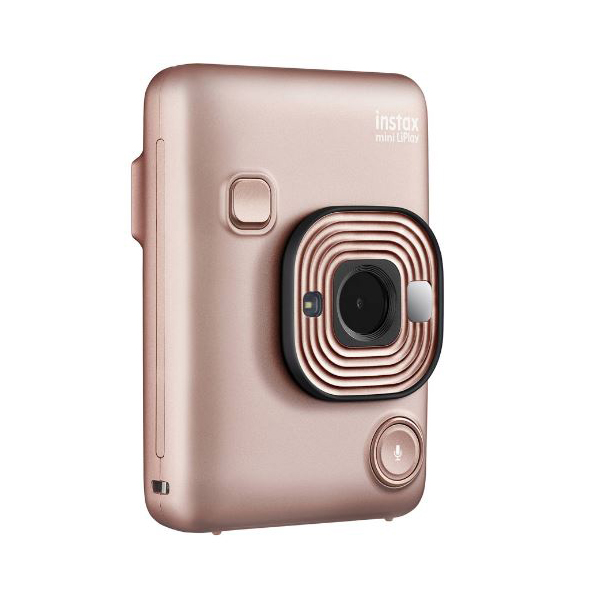 Фотокамера моментальной печати Fujifilm Instax Mini LiPlay Gold фотоаппарат instax mini liplay blush gold