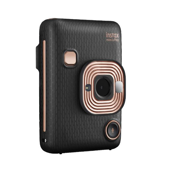 Фотокамера моментальной печати Fujifilm Instax Mini LiPlay Black фотоаппарат instax mini liplay blush gold