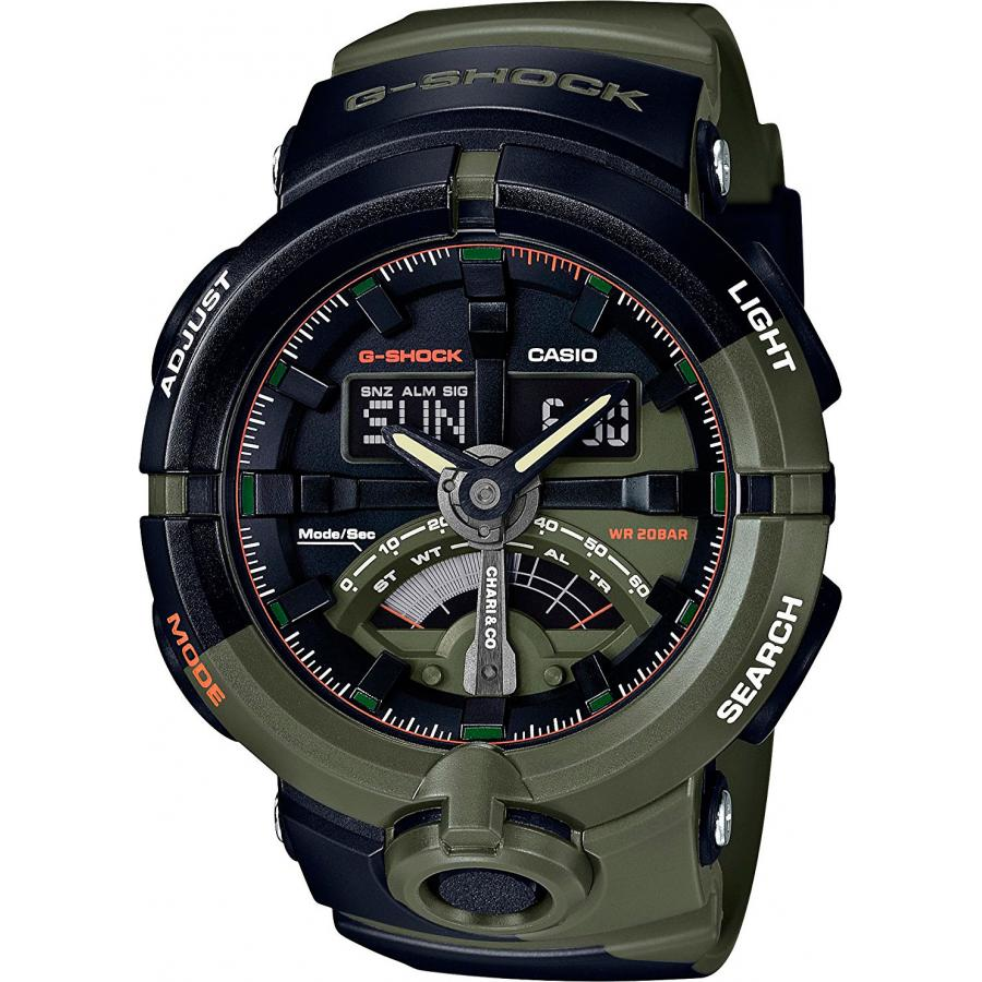 Наручные часы Casio G-Shock GA-500K-3A casio g shock ga 1100kh 3a