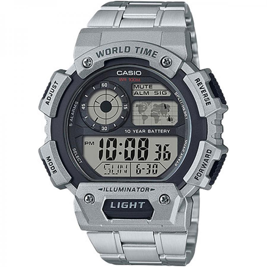 цена на Наручные часы Casio Digital AE-1400WHD-1A