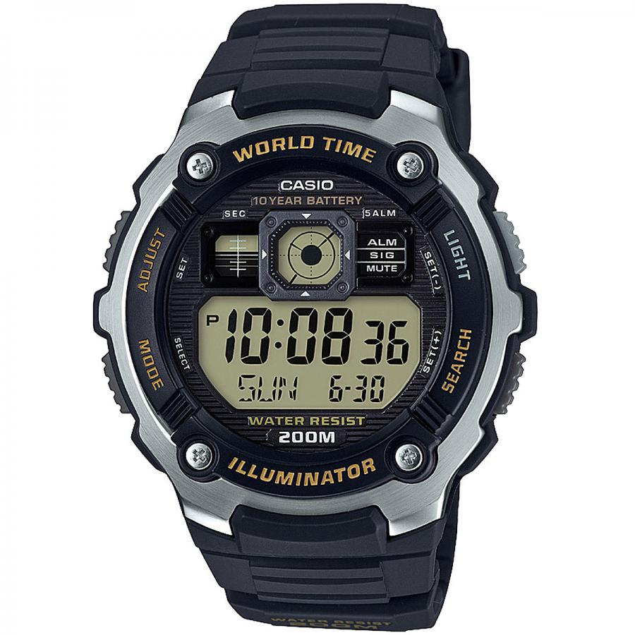 цена на Наручные часы Casio Digital AE-2000W-9A