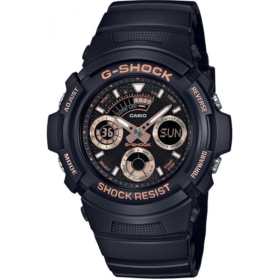 Наручные часы Casio G-Shock AW-591GBX-1A4 наручные часы casio combinaton watches aq s810w 1a4