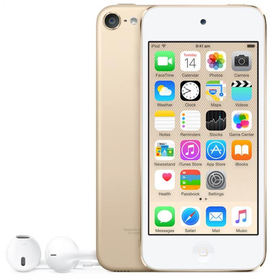 Цифровой плеер APPLE iPod Touch 6 128GB Gold