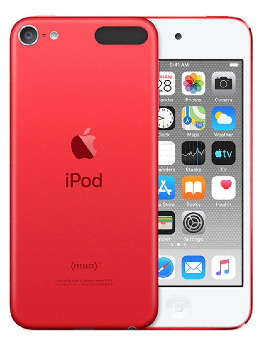 Цифровой плеер Apple iPod Touch 7 256Gb Red