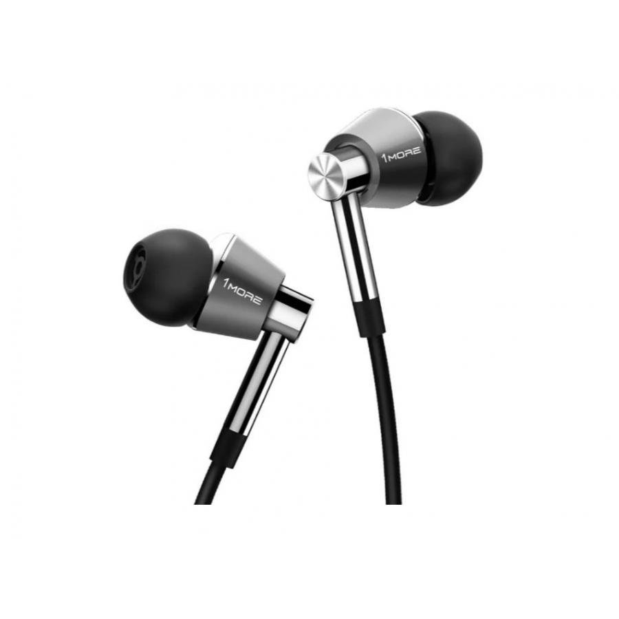 Фото - Наушники Xiaomi 1More E1001 Triple Driver In-Ear Silver наушники xiaomi mi in ear headphones basic black x14273