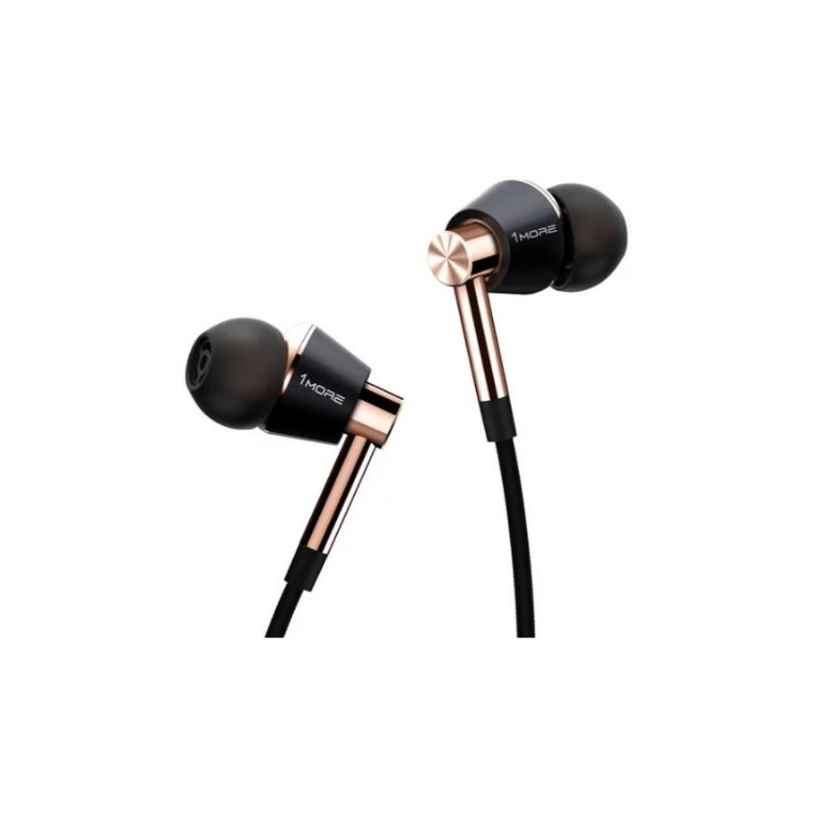 Наушники Xiaomi 1More E1001 Triple Driver In-Ear Gold наушники xiaomi mi in ear headphones basic black x14273