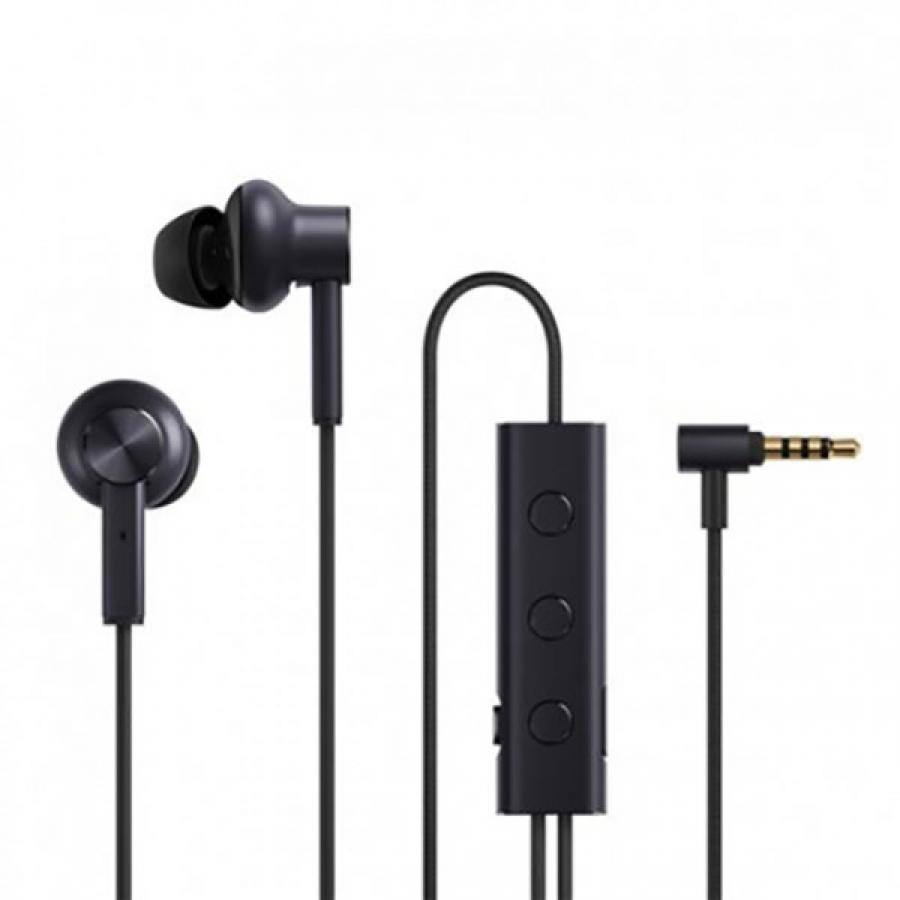 Фото - Наушники Xiaomi Mi Noise Cancelling Earphones JZEJ02JY Black наушники xiaomi airdots mi true wireless earphones белые