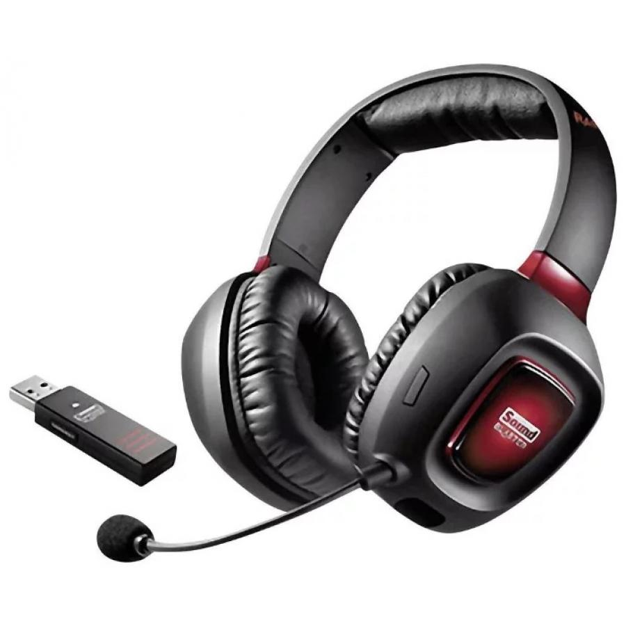 Наушники Creative SOUND BLASTER TACTIC3D RAGE V2.0 Wireless компьютерная гарнитура creative sound blaster tactic3d rage wireless v2 0 70gh022000003