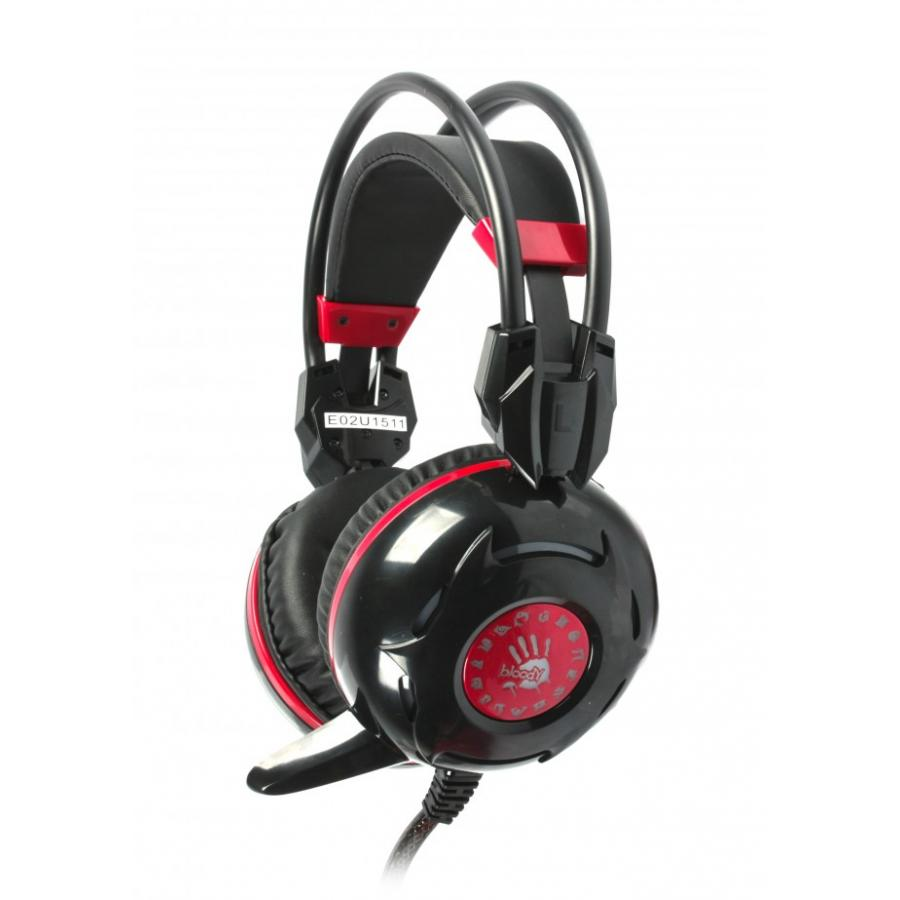 Фото - Наушники A4Tech Bloody G300 Black-Red игровая