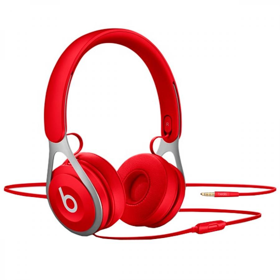 Наушники Beats EP On-Ear Headphones Red (ML9C2ZE/A) 1more super bass headphones black and red