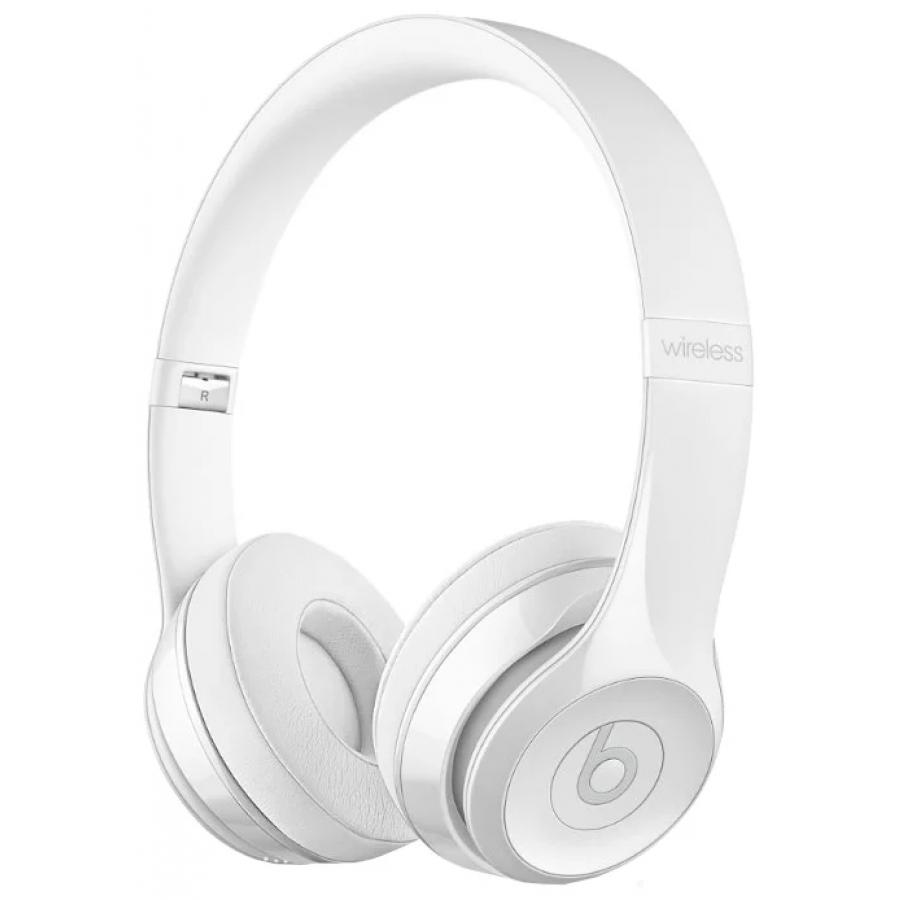 Наушники Beats Solo3 Wireless On-Ear Headphones (Gloss White) беспроводные наушники beats mnep2ze a solo 3 wireless gloss white
