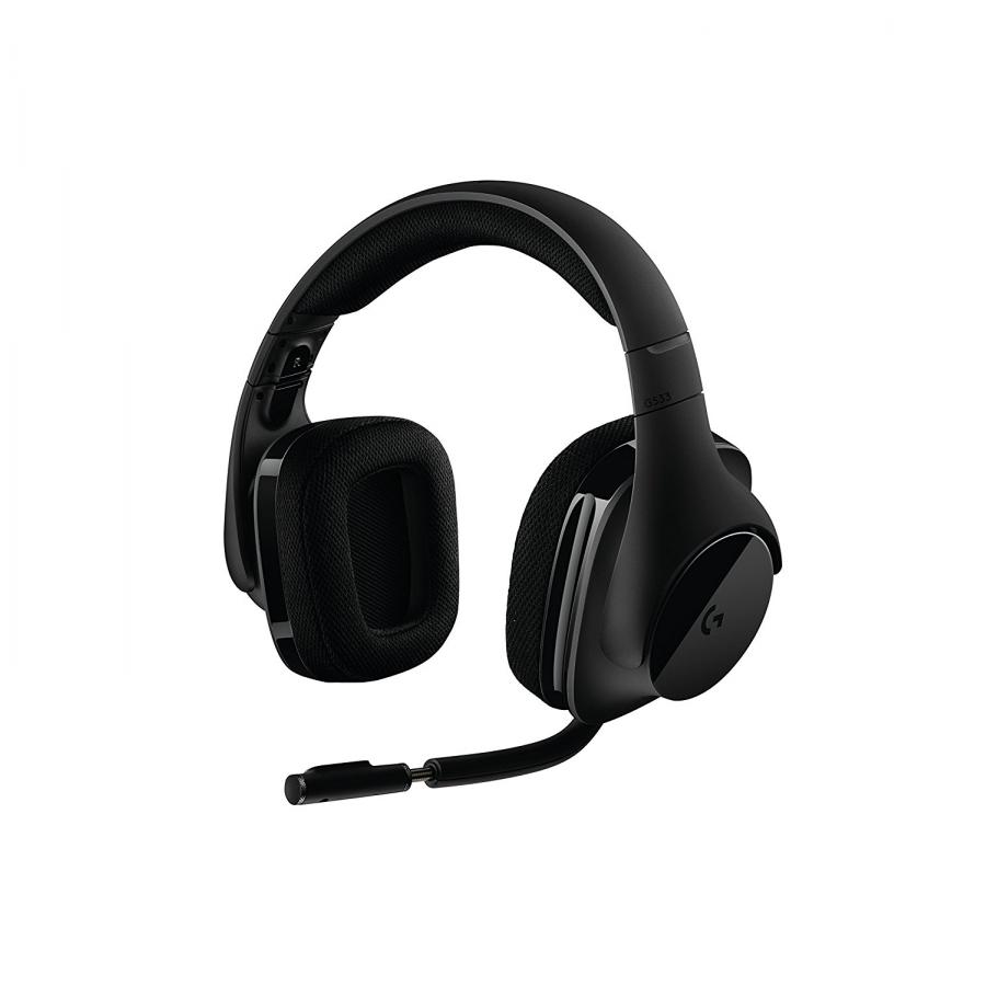 Фото - Наушники Logitech Headset G533 Wireless Black (981-000634) мышь logitech m185 wireless mouse grey black