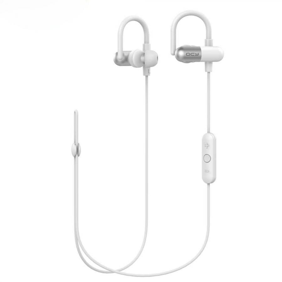 Наушники QCY QY11 White qcy qy7 wireless bluetooth 4 1 stereo sport earphone with mic