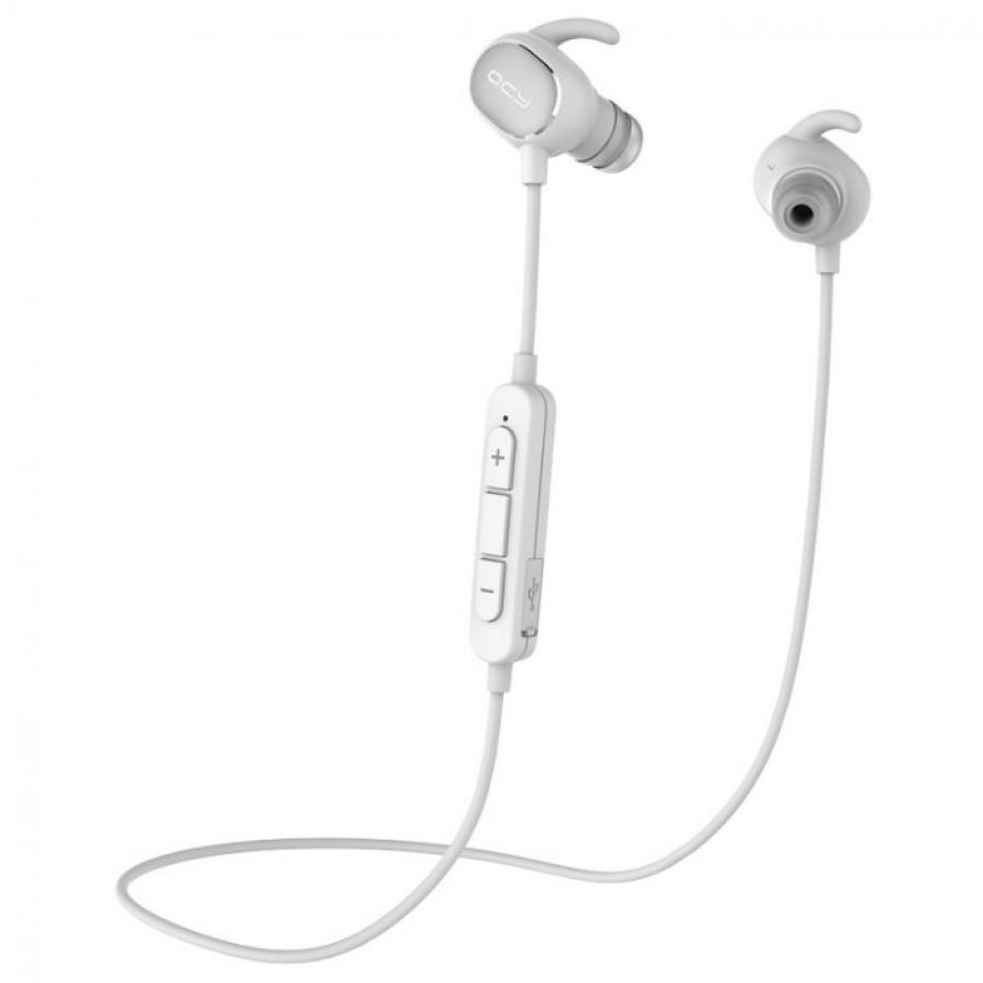 Фото - Наушники QCY QY19 белые qcy qy19 bluetooth 4 1 headphones wireless workout earbuds