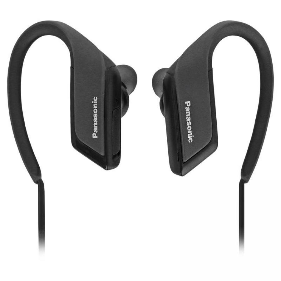 Наушники беспроводные Panasonic RP-BTS35GC-K Black panasonic rp hde3mgc k in ear earphone stereo sound headphones headset music earpieces with microphone earphones super bass