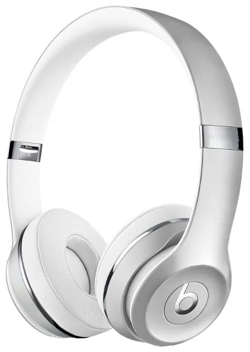 Наушники Beats Solo3 Wireless серебристый (MNEQ2EE/A) наушники beats powerbeats2 wireless white mhbg2ze a