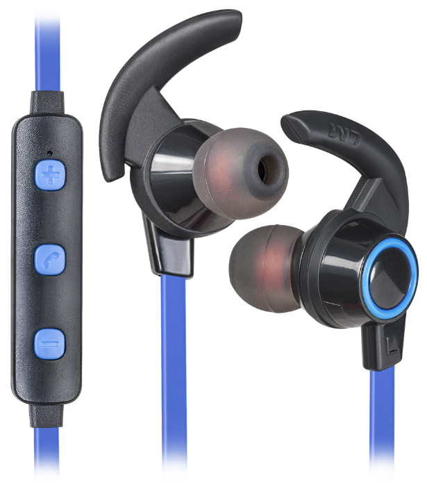 Фото - Наушники Defender OutFit B725 Black+Blue, Bluetooth (63725) bluetooth наушники dubstep с белой отделкой