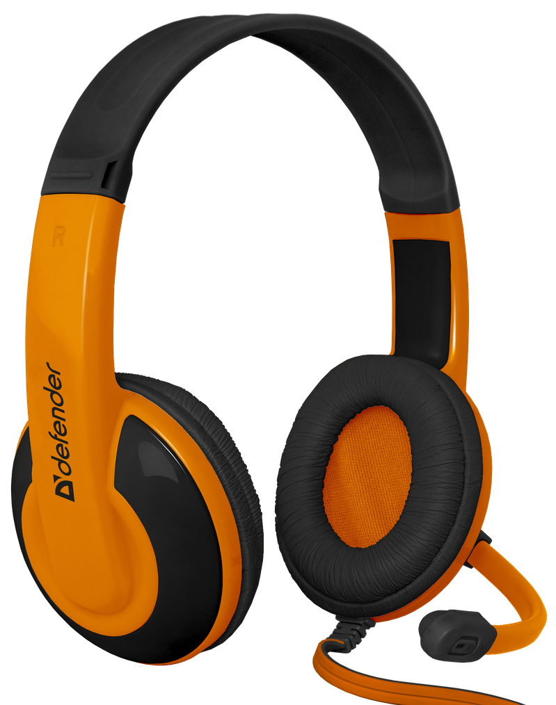 Наушники Defender Warhead G-120 Black/Orange 2м (64099) мини пк orange pi pc2