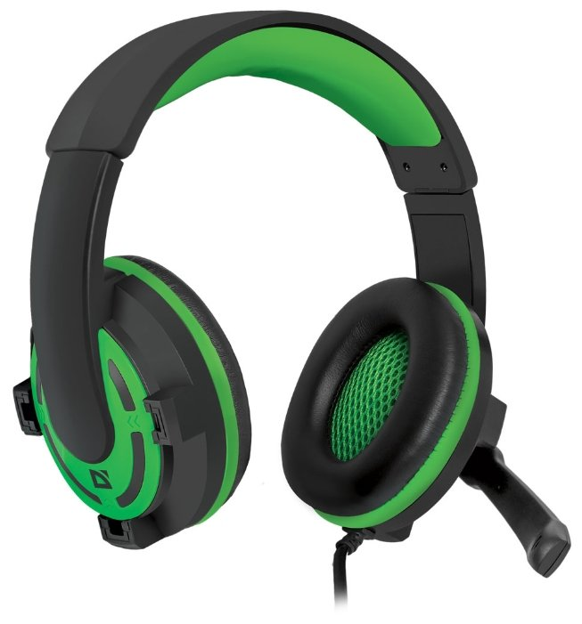 цена на Наушники Defender Warhead G-300 Green 2.5м (64128)