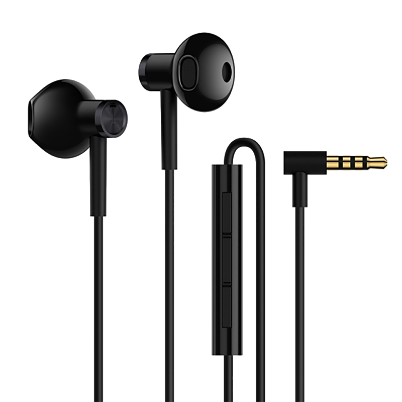Фото - Наушники Xiaomi Mi Dual Driver Earphones Black (X17141) наушники xiaomi airdots mi true wireless earphones белые