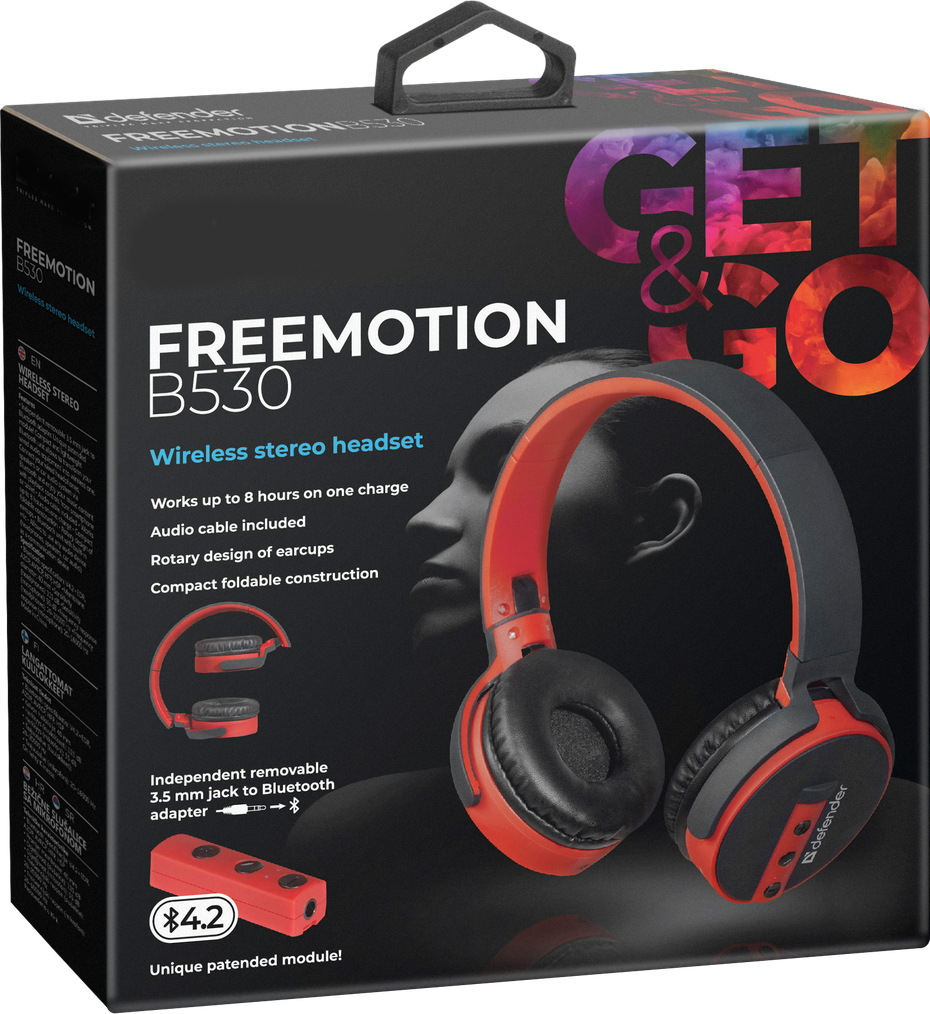 Фото - Наушники Defender FreeMotion B530 bluetooth гарнитура intro hsw310
