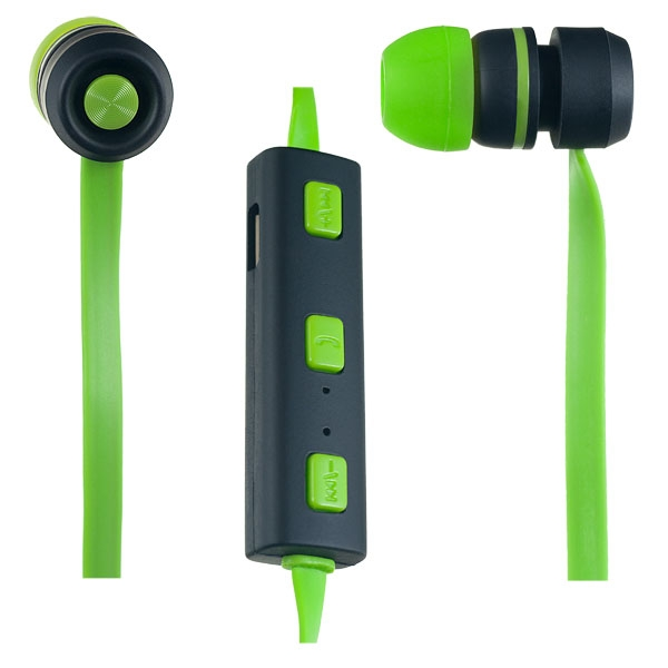 Наушники Perfeo Sound Strip (PF-BTS-GRN/BLK) Green/Black наушники perfeo twins черный pf tws blk