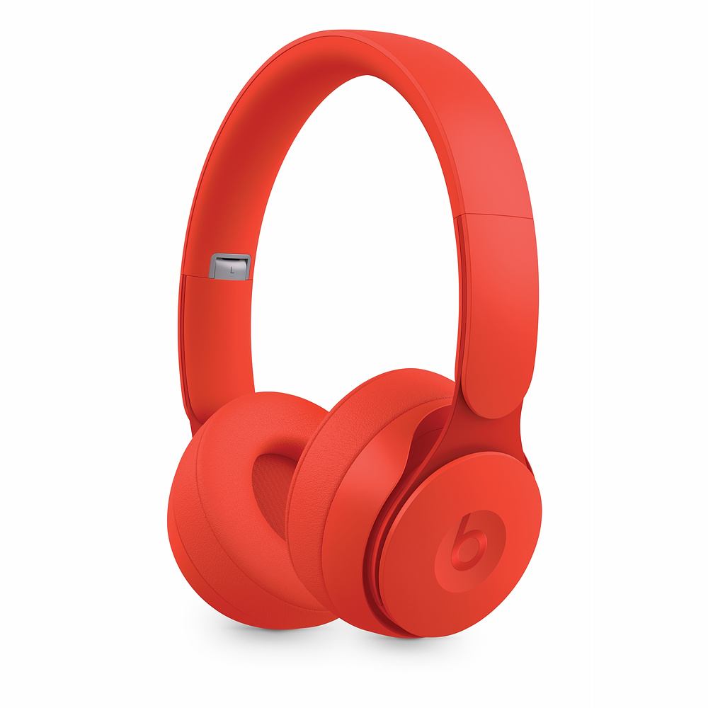 Фото - Наушники Beats Solo Pro Wireless More Matte Collection (MRJC2EE/A) Red sephora collection sephora collection set набор кистей для глаз sephora collection set набор кистей для глаз