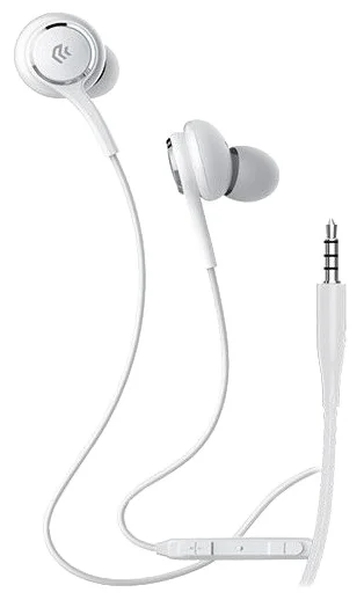 Наушники Devia Smart Series Wired Earphone - White devia cookee bluetooth earphone black 25923