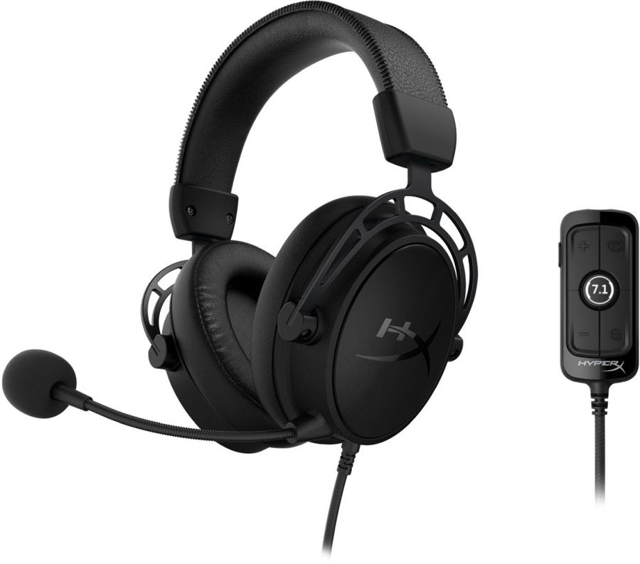 Наушники HyperX Cloud Alpha S Blackout (HX-HSCAS-BK/WW) Black недорого