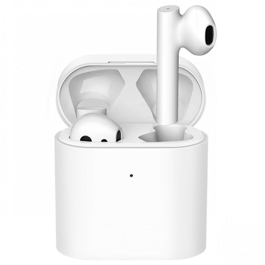 Фото - Наушники Xiaomi Mi True Wireless Earphones 2S (TWSEJ07WM/BHR4208GL) белый наушники xiaomi airdots mi true wireless earphones белые