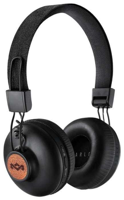 Наушники Marley Positive Vibration BT EM-JH133-SB Signature Black наушники marley positive vibration xl em jh141 bl denim