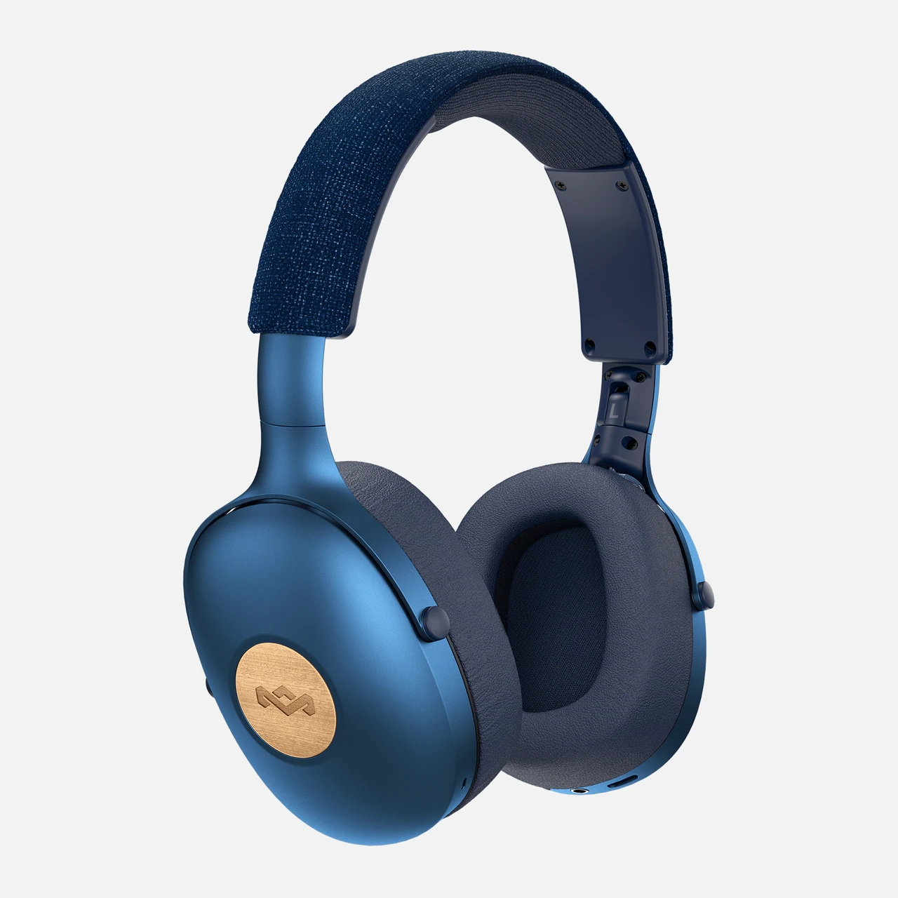 Наушники Marley Positive Vibration XL EM-JH141-BL Denim наушники marley positive vibration xl em jh141 bl denim