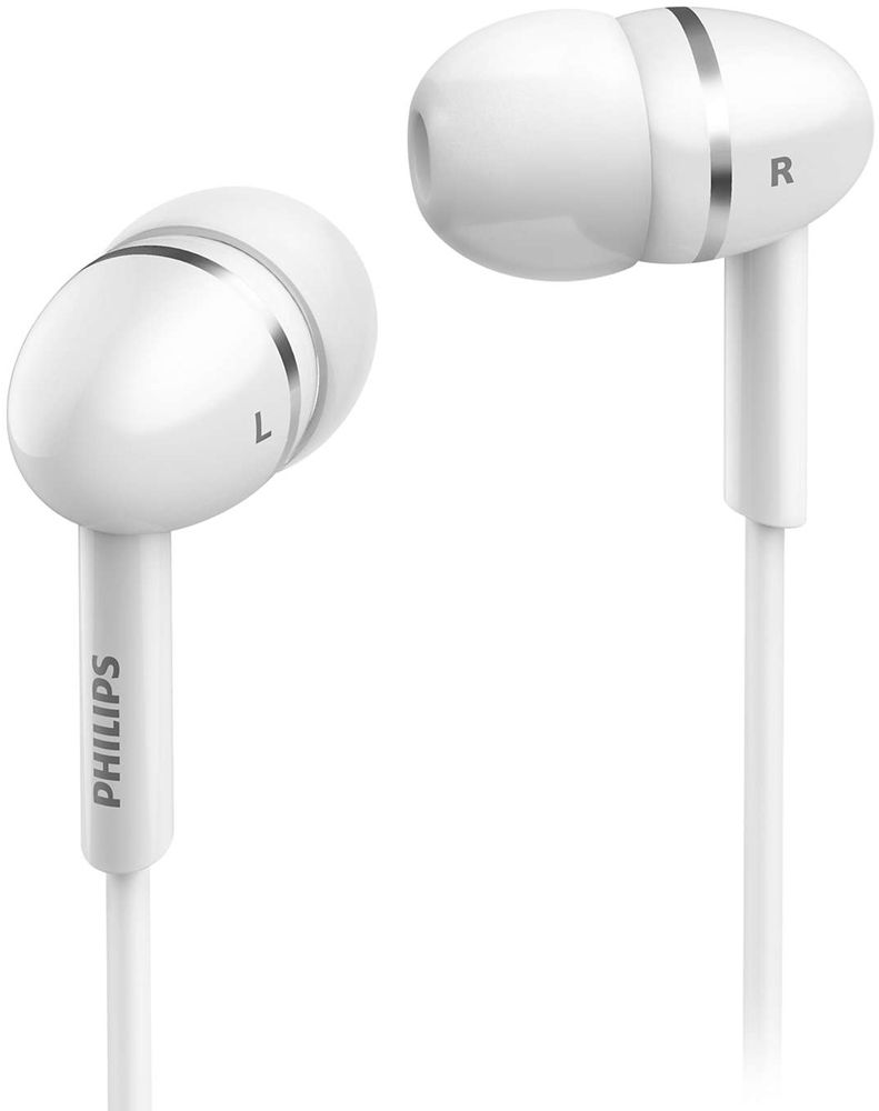 Наушники Philips SHE1450 White philips she3515 white