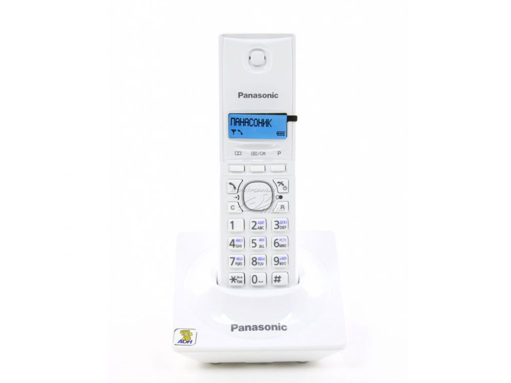Радиотелефон Panasonic KX-TG1711 RUW White smile та 1840 white тостер