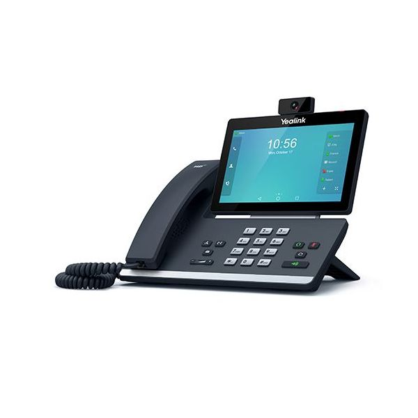 VoIP-телефон Yealink SIP-T58A черный sip телефон yealink sip t58a [sip t58a with camera]
