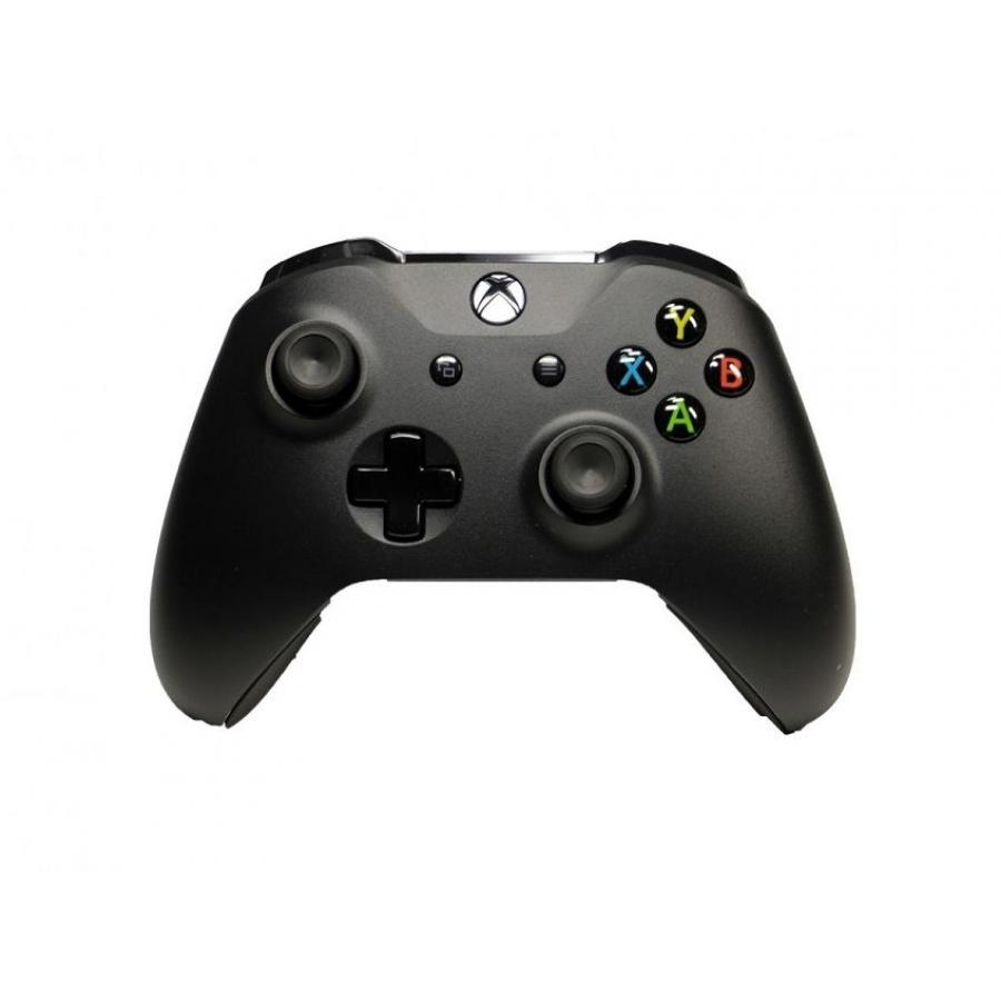Геймпад беспроводной Microsoft Xbox One Wireless Controller черный (6CL-00002) 47 keys 2 4g wireless keyboard chatpad for xbox one slim controller