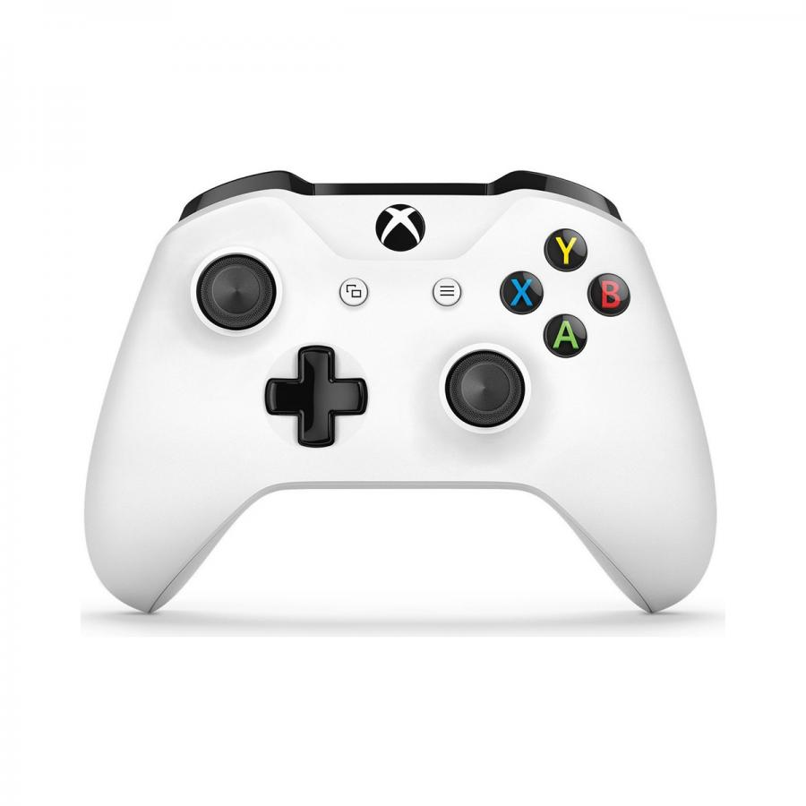Геймпад беспроводной Microsoft Xbox One Crete Wireless Controller белый (TF5-00004) геймпад microsoft xbox one wireless controller fc barcelona