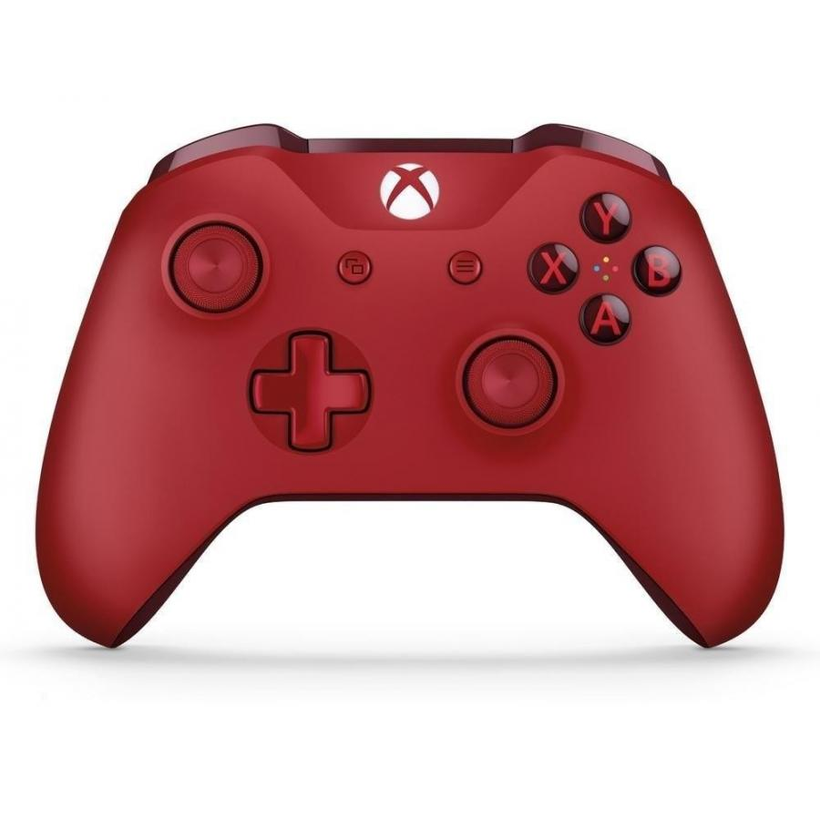 Фото - Геймпад беспроводной Microsoft Xbox One Wireless Controller Color Red (WL3-00028) геймпад microsoft xbox one controller black cable 4n6 00002