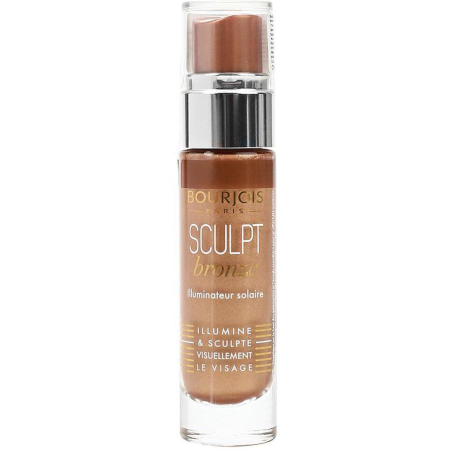 Хайлайтер для лица Bourjois Sculpt Highlighter, тон bronze sunkissed загорелый essence strobing highlighter хайлайтер тон 10 абрикосовый