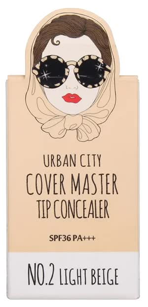 Консилер Urban City Cover Master Tip Concealer NO.2 LIGHT BEIGE 11g цена