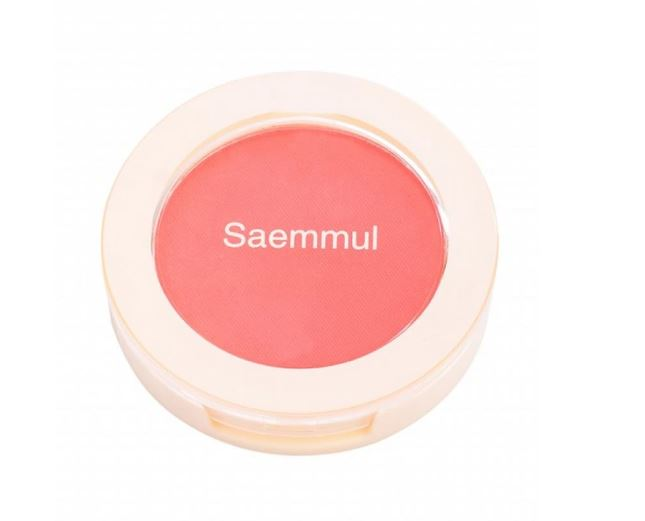 цена на Румяна The Saem Saemmul Single Blusher PK01 Bubblegum pink 5гр