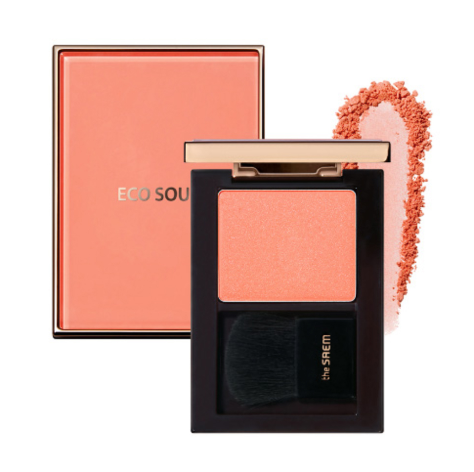 Румяна The Saem Eco Soul Luxe Blusher BE01 Nude Veil недорого