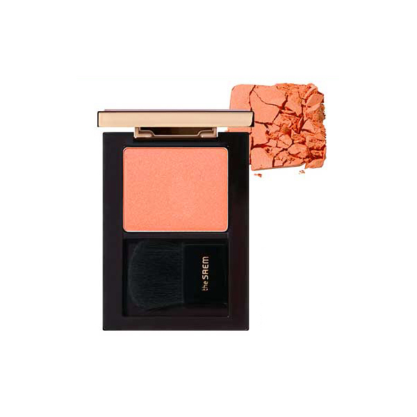 Румяна The Saem Eco Soul Luxe Blusher CR01 Maison Coral недорого