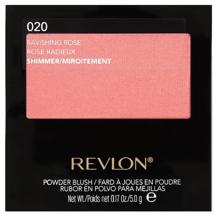 Румяна для лица Revlon Powder Blush Ravishing rose тон 020