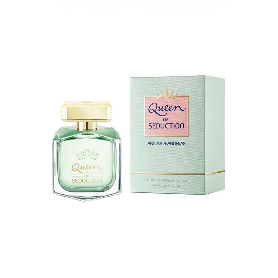 Туалетная вода Antonio Banderas Queen Of Seduction Women edt, 50 мл, женская antonio banderas king of seduction absolute объем 100 мл