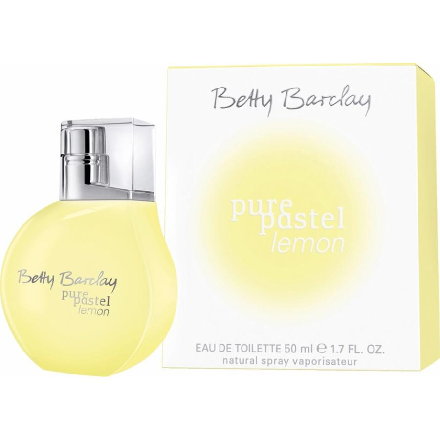 Туалетная вода Betty Barclay Pure Pastel Lemon, 50 мл, женская betty barclay жакет betty barclay pe50691152 1895