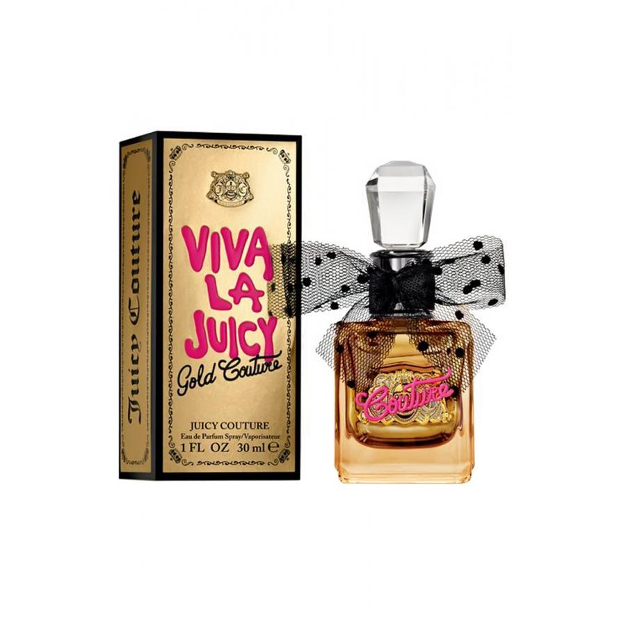 Парфюмерная вода Juicy Couture Viva La Juicy Gold Couture, 30 мл, женская juicy couture 254711 viva la juicy gold couture 3 4 oz eau de parfum spray